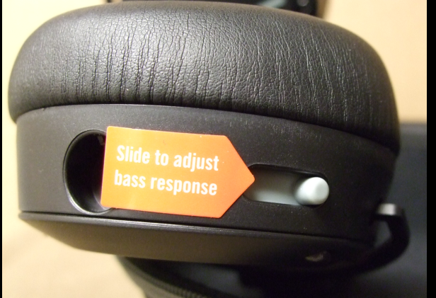 Bass Slider close-up